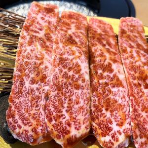 タッチパネルでお肉を注文すると特急レーンで運ばれてくるハイテク焼肉店「トラジ ハイレーン」