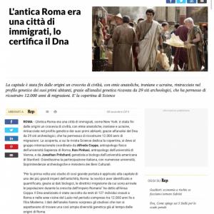 なぜテルマエ・ロマエの阿部寛さんなのか? イタリア大手メディアに掲載された古代ローマを描写する画像に反響