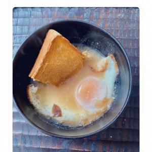具材はトーストと玉子 料理研究家・土井善晴さんの作る味噌汁に大きな反響