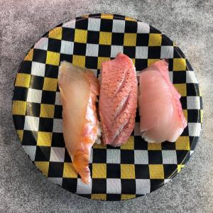 金目鯛や地魚のリーズナブルなお寿司!伊豆の下田「道の駅 開国下田みなと」の「回転寿司 魚どんや」