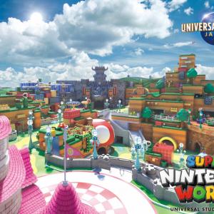 """USJ「スーパーマリオ」のゲーム世界を再現した""""Nintendoエリア""""新ビジュアル公開 経済効果は約11.7兆円!? 今後海外のパークにも誕生"""