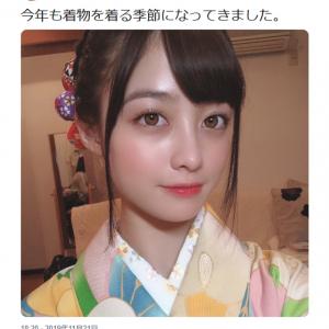 「美しすぎて意味わからん」「美人すぎて意味わかんねえ」 橋本環奈さんの着物写真ツイートに大反響