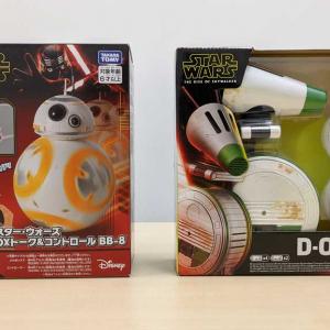 しゃべって歌うBB-8&スピンが可愛い新ドロイドD-O スター・ウォーズの新作ドロイドおもちゃをレビュー