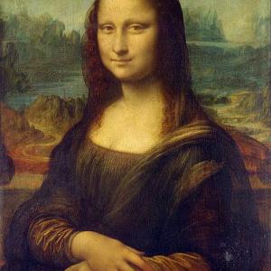 """ルーブル美術館に展示されている""""モナリザ""""は偽物という説"""