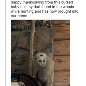 感謝祭で実家に帰省して見つけた不気味なモノたち