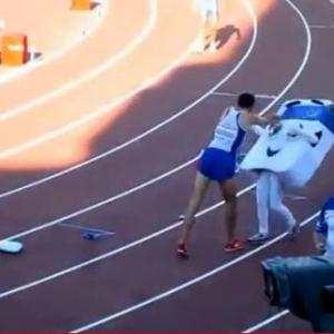 どうしてそんな酷いことを!? 優勝したフランスの陸上選手マイディーヌ・メキシベナバさんが14歳の少女に攻撃