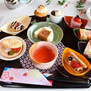 2020年のテーマは「苺×和」ヒルトン東京お台場ストロベリーデザートビュッフェ