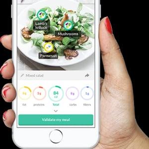 AIがカロリー計算するFoodvisorが栄養管理アプリ市場を牽引する