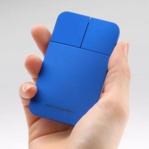 高さ13mmのスタイリッシュな薄型マウス『ポケットマウス』