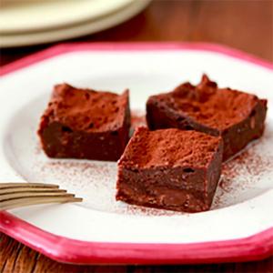 レンジ3分でできる! レシピ「濃厚生ガトーショコラ」が便利