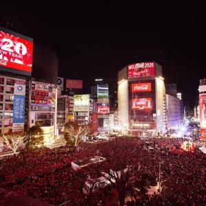 4回目となる渋谷カウントダウンに約11万人参加 令和最初の年越し祝う