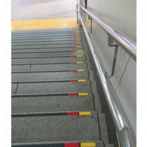 「この目印があるだけで安心して歩けます」 「階段識別マーク」の普及もとめるツイートに反響