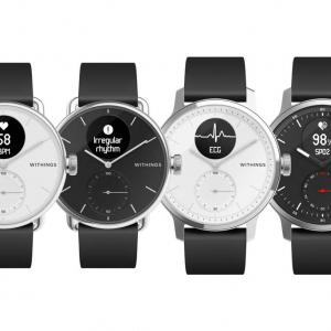 心電図測定と睡眠時無呼吸症候群の感知が可能に Withingsがアナログ腕時計型活動量計の新製品「ScanWatch」を発表