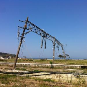 【原発20キロ圏内のリアル】流された駅舎と水平線―JR富岡駅(富岡町)