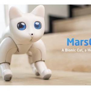 ネコ型ロボットの「MarsCat」がクラウドファンディング中