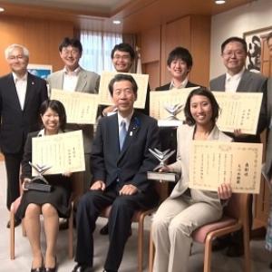 学生IT世界大会準優勝チームが平野文部科学大臣を表敬訪問 イマジンカップ