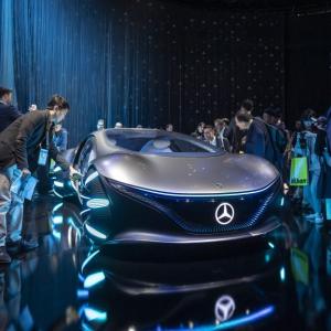 メルセデス・ベンツ×アバターの「VISION AVTR」 CES 2020で公開
