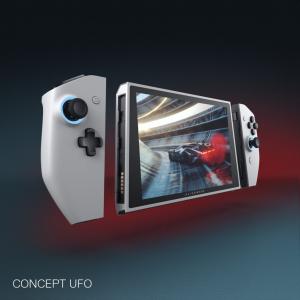 デルがゲーミングPCのコンセプトモデル「Concept UFO」をCES 2020で公開