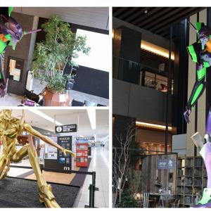 名古屋の金色エヴァ&6mの初号機立像ついにお披露目 360度から見たい!どちらも圧巻のカッコよさ