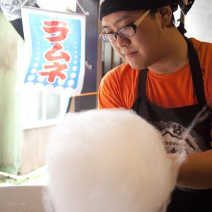 「綿菓子屋さん ふわり。」34のおっさん奮闘記――新商品発表「立石綿菓子」明日販売!(7月23日)