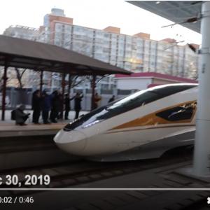 """北京オリンピックに向け中国で最高時速350kmの京張高速鉄道が運行開始 顔認証システムや5Gを採用した""""スマートトレイン"""""""