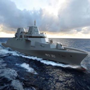 ドイツの多目的戦闘艦MKS180 オランダのダーメンが受注