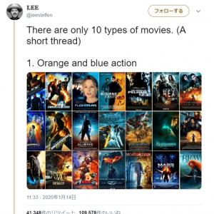 映画って10種類のタイプしかないんです 言われてみると確かにそう