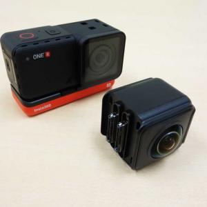 レンズやディスプレイを組み替えられるモジュール式アクションカメラ「Insta360 ONE R」フォトレビュー