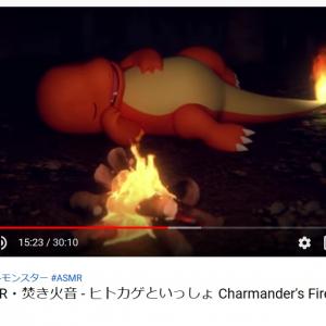 焚き火をつけてくれるの感動……ヒトカゲがすやすや眠る公式ASMR動画にトレーナー悶絶!「アニポケ初期が思い浮かんだ」「神動画」