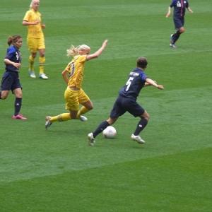 【ロンドンオリンピック】なでしこジャパンが決勝T進出確定! 女子サッカー日本vsスウェーデン戦を観てきました