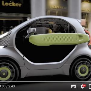 3Dプリント製の可愛い電気自動車「XEV YoYo」 1台約72万円から