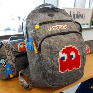 Kiplingがパックマン40周年記念コラボ製品を発表 アートバッグ・リュック・スーツケースなどをラインアップ