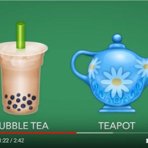 Unicodeが最新の絵文字「Unicode Emoji 13.0」を発表 タピオカミルクティーなどが追加