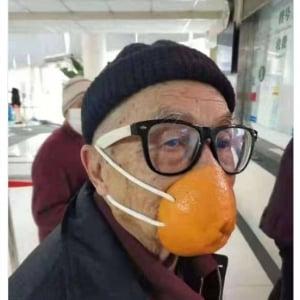 中国ではマスクの供給不足が深刻 様々なマスクの代替品が登場している模様です