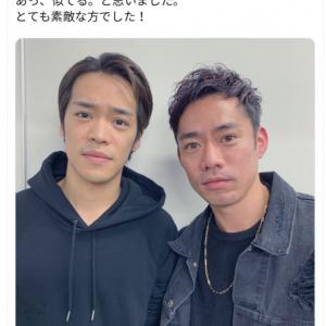 似てると言われ続けはや何年? 小野賢章さんと高橋大輔さんが感動の対面