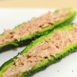 『ゴーヤの苦味サラダ』を実食してみた【格差の食卓:第14回】