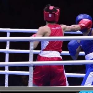 ロンドンオリンピック ボクシングの試合で不正丸出し!? 清水聡選手(赤)VSアゼルバイジャン M・アブドゥハミドフ選手(青)