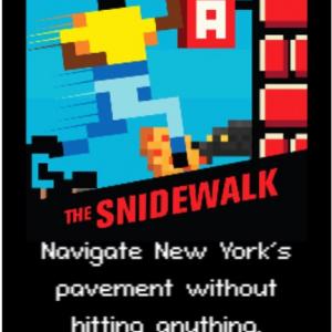 ラン系だけど走るのではなく歩き続けるゲーム「The Snidewalk」
