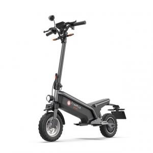 最高速度45km&10インチタイヤで安定性重視! 電動スタンディングスクーター『Free Mile plus』クラウドファンディング中