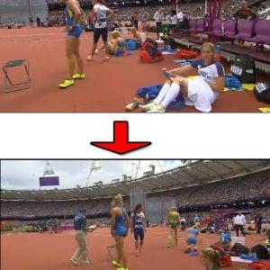 チェコの女子陸上選手のパンツ生着替えが放送され話題に!
