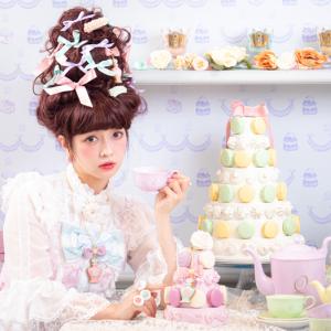 ロリータモデル青木美沙子×Q-pot.のkawaiiコラボ実現! テーマはスウィートな「マリーアントワネットの世界」