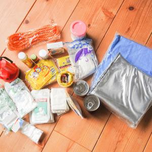 防災バッグ常備率は日本全国で28.9% ペットボトル入り飲料水や乾パンが期限切れになっているケースも!