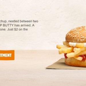 """バーガーキングの「チップバティ(Chip Butty)」 アメリカ人「チップバティってなんなん?」→イギリス人「""""フレンチフライバーガー""""とか""""フレンチフライサンド""""じゃないんよ」"""