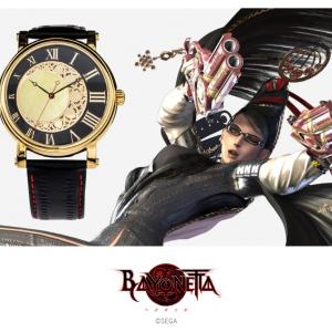 ゲーム『BAYONETTA(ベヨネッタ)』コラボの腕時計・バックパック・財布が登場! 懐中時計や悪魔文字を取り入れた魅惑の魔女アイテム
