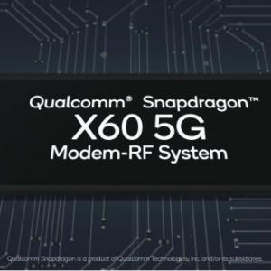 Qualcomm、第3世代5Gモデム「Snapdragon X60」を発表