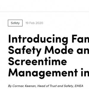 TikTokが「ファミリー・セーフティ・モード」を発表 イギリスから導入開始(2/26追記あり)