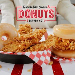 カロリーモンスターの「Kentucky Fried Chicken & Donuts」が期間限定で全米デビュー