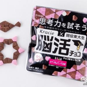 食べるためには謎を解け!『思考力を試そう 現役東大生×Kracie 脳活チョコ』は大人もハマる知育菓子!