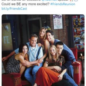 ワーナーメディアが『フレンズ』再会スペシャルを公式発表 5月に「HBO Max」で配信