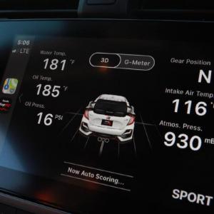 Honda 「2020 CIVIC TYPE R」のアルゴリズム使用アプリ「LogR」が画期的